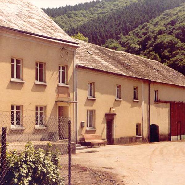 1a old Kalborner Mühle zu Lebzeiten der letzten Bewohnerin Juli 1991