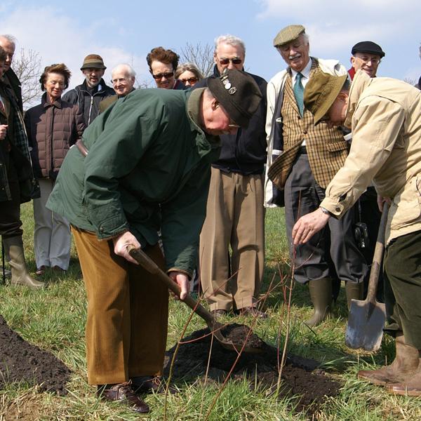 Baumpflanzung November 2007